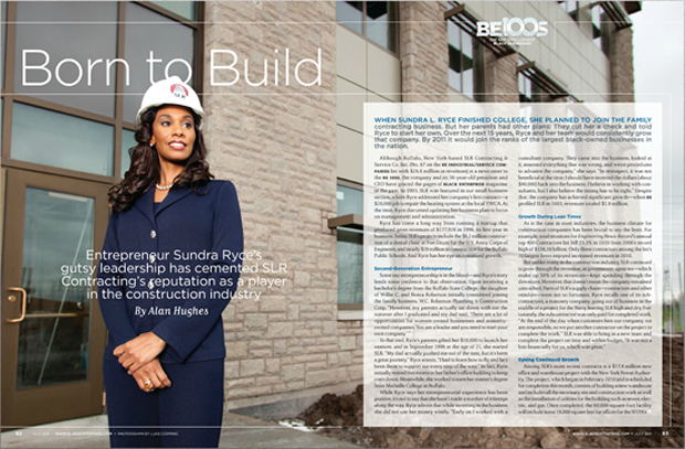 Black Enterprise Magazine July Tear Sheet