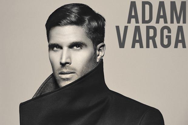 Adam Varga in Funnel Neck Coat