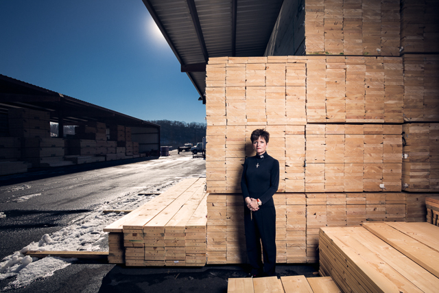 Maggie Magerko of 84 Lumber for Forbes Magazine. 84 Lumber is the largest privately held building materials supplier in America.