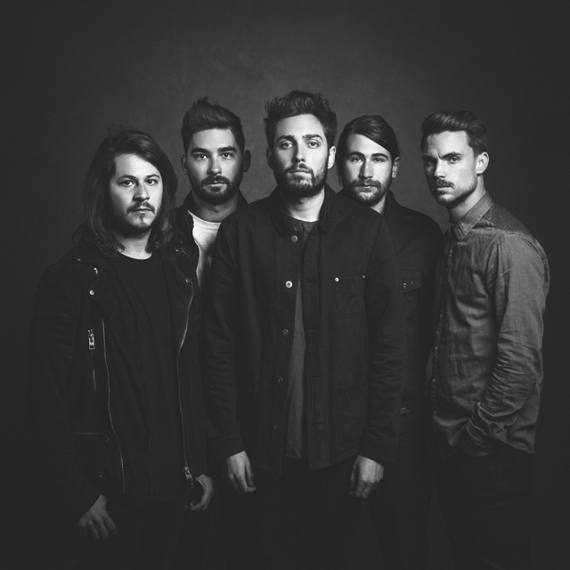 English Band You Me At Six Photographed for Alternative Press