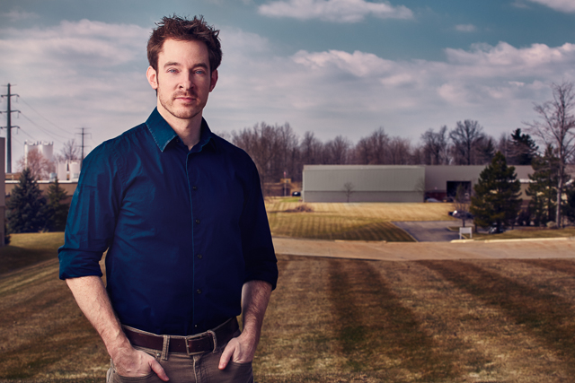 Ryan Farris of Parker Hannifin in Cleveland OH for Forbes Magazine