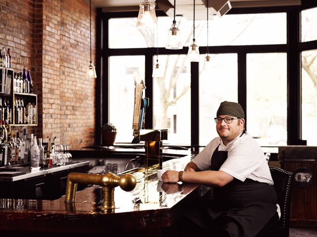 Chef Steve Gedra of the Black Sheep in Buffalo, NY.