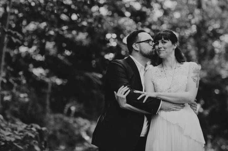 A moment from the wedding of Luke & Erin Copping - By Nickel City Studios