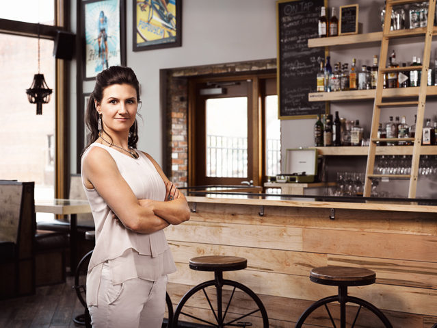 Sarah Schneider is the Owner of Handlebar - a bicycle themedbar and pub located in The Hub development center in Buffalo, NY