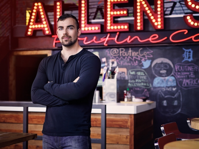 Jake Fraser - Co-Owner of Allen Street Poutine Company in Buffalo New York. Serving the classic Canadian dish of fresh cheese curds, french fries, and hot gravy.