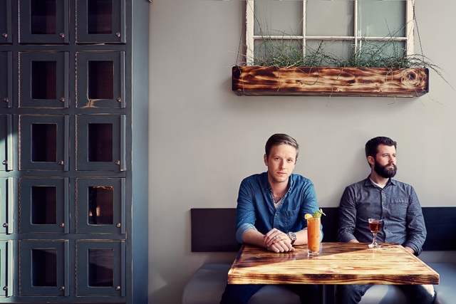 Michael Dimmer And Christian Wilmott - Owners of Marble+Rye and The Black Market Food Truck in Buffalo NY.
