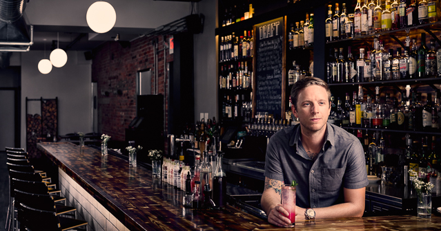 Michael Dimmer - Owner of Marble+Rye and The Black Market Food Truck in Buffalo NY.