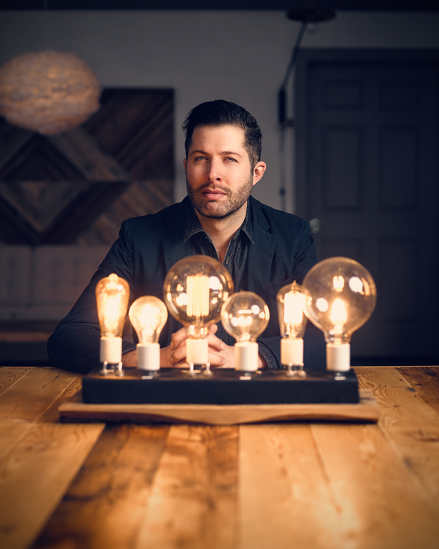 Andrew Emerson - Owner and designer of Emerson James Lighting