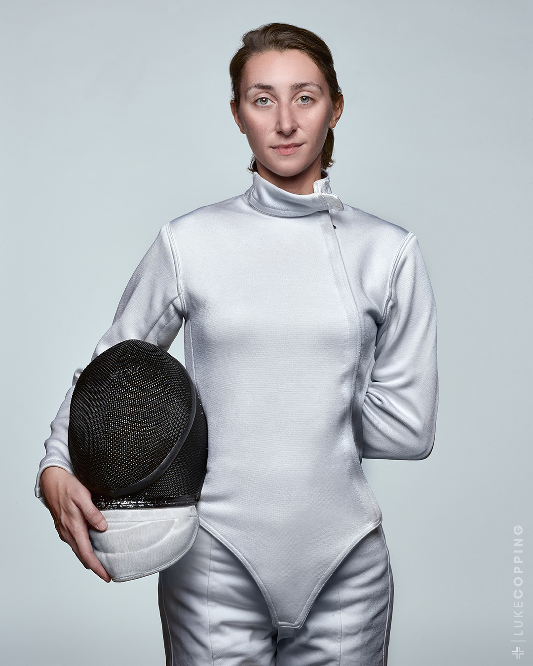 Christine Gallisdorfer of Buffalo Les Amis Fencing Club