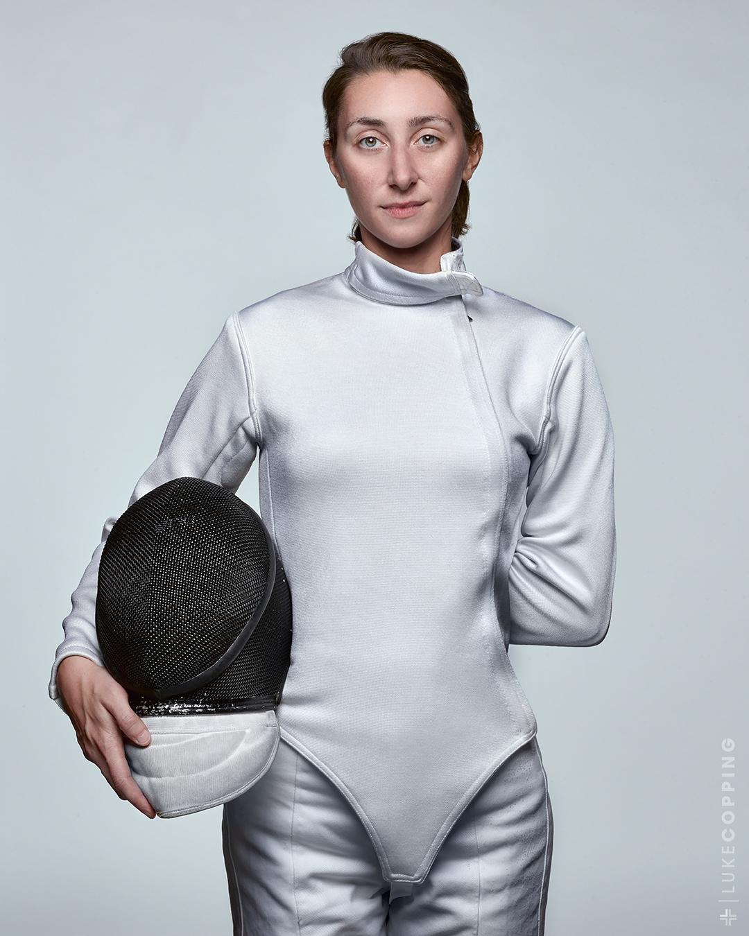 Christine Gallisdorfer of Buffalo Les Amis Fencing Club