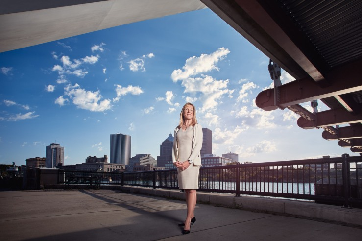 Lisa Bobo is the Chief Information Officer of the City of Rochester New York - photographed for Public CIO Magazine
