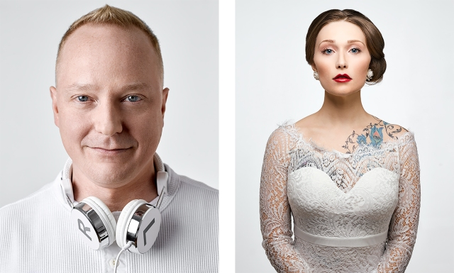 Club DJ Joe Chalifoux and Model Paige Carson