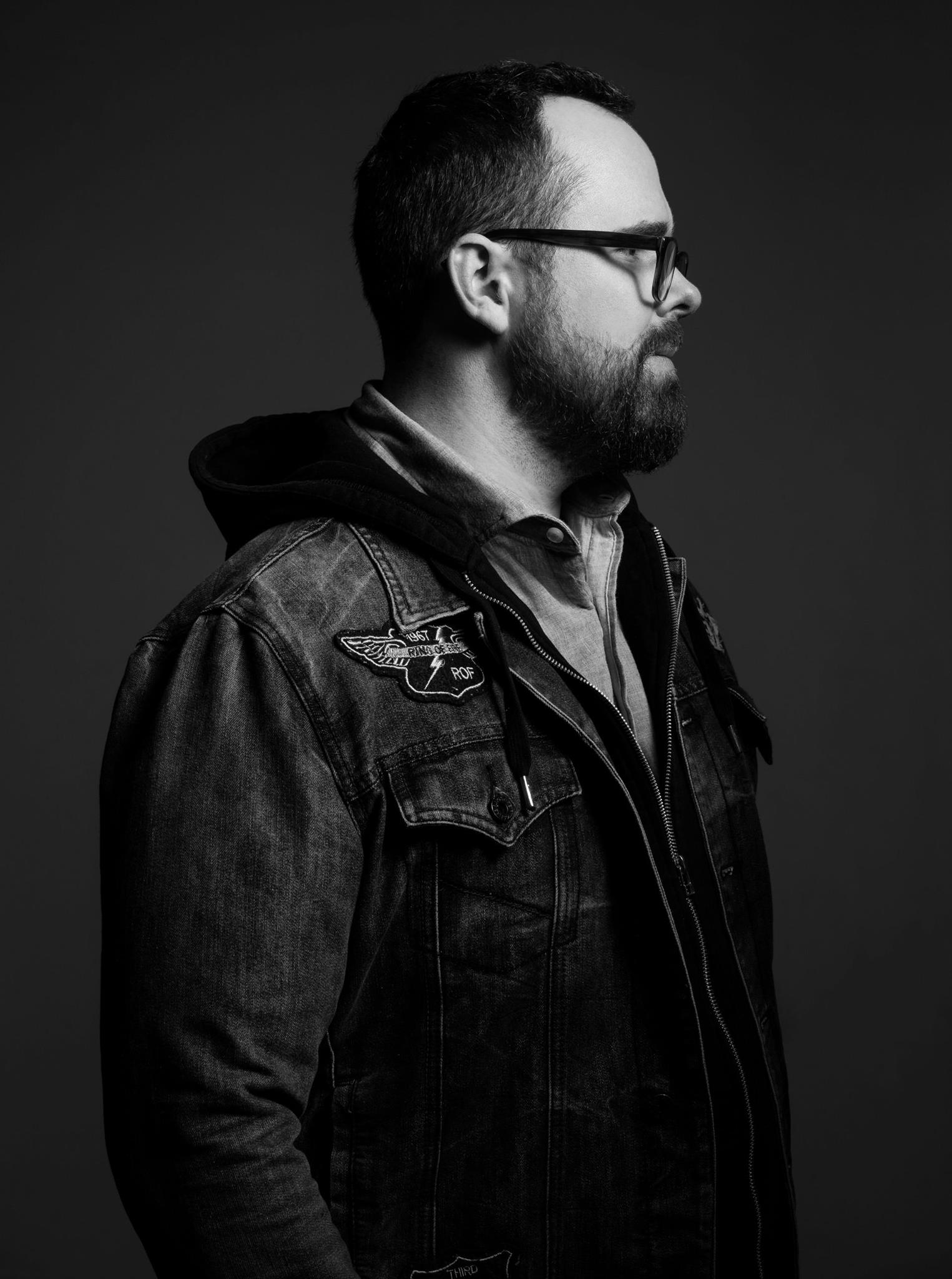 Portrait of photographer Luke Copping by Rhea Anna