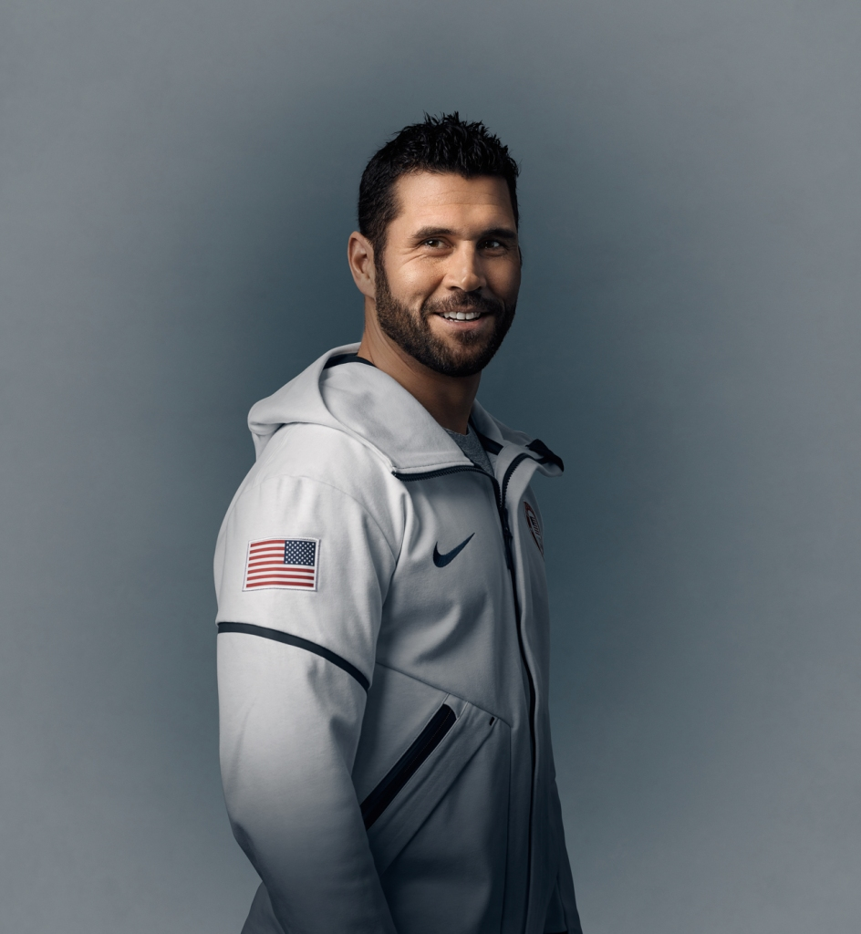 Brian Gionta - Captain of Team USA Hockey Olympic Team