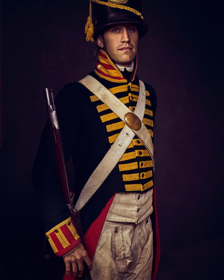 War of 1812 Reenactors at Old Fort Niagara In Youngstown NY